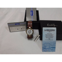Relógio De Pulso Quartz Longines Rudolph