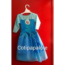 Disfraz Frozen Elsa Anna Niña Princesa Regalo Oferta Vestido