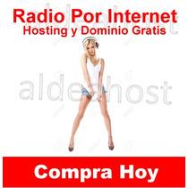 Streaming Radio 200 Users 96 Kbs + Hosting Y Dominio Gratis