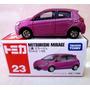 Mc Mad Car 23 Mitsubishi Mirage Tomica Auto Coleccion Japon