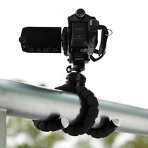 Tripie Flexible Unviersal Con Sujetador Para Camara Celular