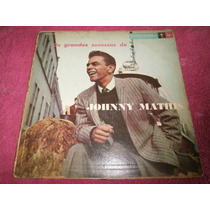 Lp Os Grandes Sucessos De Johnny Mathis, Disco Vinil