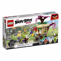 Lego Angry Birds Movie 75823 Bird Island Egg Heist - 277 Pç
