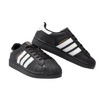 Adidas Superstar Preto E Branco Bonde Da Stronda