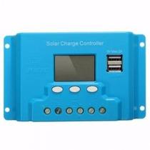 Controlador De Carga Solar De 20 A Sistema Fotovoltáico