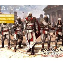 Assassins Creed Brotherhood Playstation Ps3 Psn