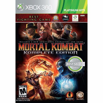 Mortal Kombat Komplete Edition - Xbox 360 Midia Fisica Pt-br