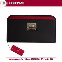 Porta Chequeras, Tarjetero,billetera,para Damas C.h.