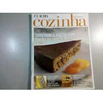 Revista Claudia Cozinha N.463 Páscoa Com Tortas De Chocolate