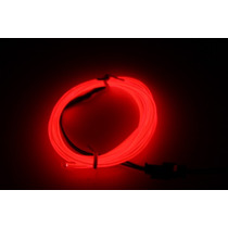 Cable 1metroluminoso Tunning Led El Wire Hilo Neon Para Ropa