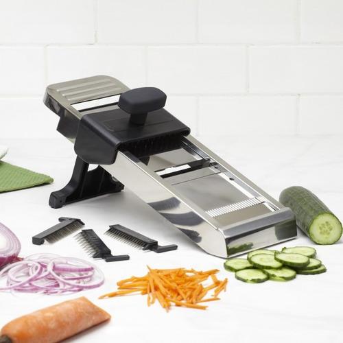 Mandolina cortador frutas legumbres verduras inoxidable for Bazar del cocinero