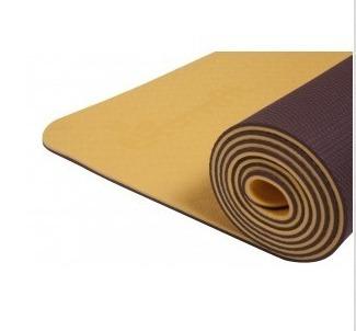 d61c4467b Tapete De Yoga Tpe Ekomat 5mm Cor Amarelo - R  180