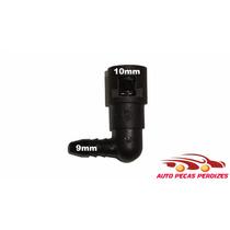 Conector Engate Rápido Gasolina Interno 10mm Ext 9mm