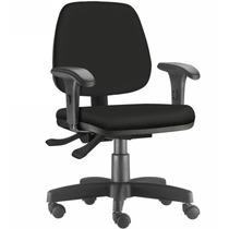 Cadeira Giratória Job Ergonomica Back System C/ Apoia Braços