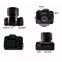 Camera Espia Micro Mini Dv Fimadora Hd