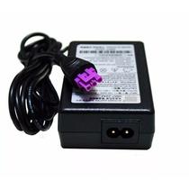 Fonte Impressora Hp Plug Roxo + Cabo De Força F4280 F4480