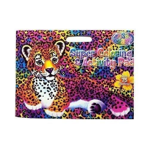 Lisa Frank Súper Actividades Y Para Colorear Pad ! - $ 109.135 en ...