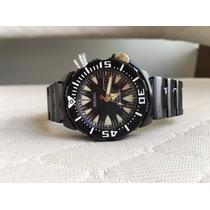 Relógio Seiko Prospex Black Monster Automatic Srp583