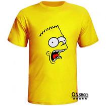 Camiseta Bart Simpson Os Simpsons Series Camisa Mod 01