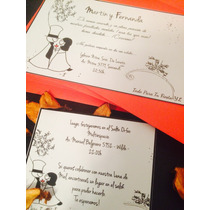 Kit Casamiento 1: Tarjetas + Souvenirs + Árbol + Nro De Mesa