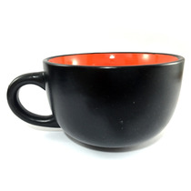 Caneca De Ceramica P/ Sopa Jumbo Laranja Pjm1204 Yazi