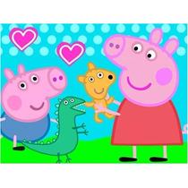 Kit Imprimible Peppa Pig Jeorge Candy Bar Tarjetas Y Mas!