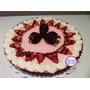 Tarta Milkshake De Frutilla Con Chocolate