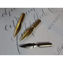 3 Penas Frete Grátis Caligrafia Desenho Bico De Pena