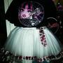 Vestido Falda Tutu Monster High