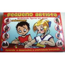 Brinquedo Pedagogico Pequeno Artista Modelar Anoezinhos
