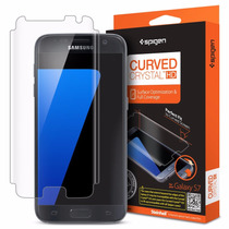 Mica Protectora Spigen Samsung Galaxy S7 Curved Crystal