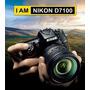 Camara Nikon D7100 Kit 18-140 + Protector Pantalla