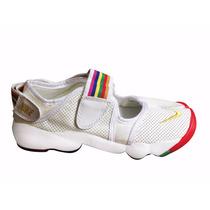 Zapatillas Nike Rift Air Dama Pezuña Dedo Partido