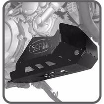 Protetor De Cárter Scam - Yamaha Tenere 660 - Preto
