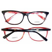 Armação Óculos De Grau Ch8406 Feminino + Case Personalizado