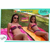 Trajes De Baño Esohj´s Swimwear Madre E Hija Originales