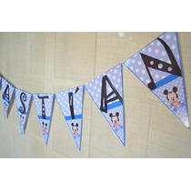 Banderines Personalizados Con La Tematica Q Gustes!