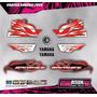 Kit Calcos - Gráfica Yamaha Banshee Simil Original - Lamin.