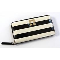 Cartera York Street Neda Clutch Wallet Stripes Ifs Femenino