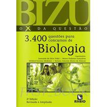 Bizu 3400 Questões Para Concursos De Biologia - Vidal