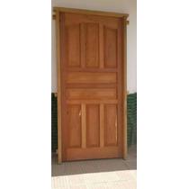 Puerta De Algarrobo De Frente De 90cm De Ancho