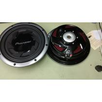 02 Autofantes Pioneer Ts-sw301. 1000w. Max. 250 Nom. 4 Hom