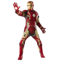 Disfraz Lujo Iron Man Traje Hombre Adulto Avengers
