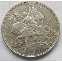 Moneda 1 Peso Caballito 1911 Sin Circular Alta Gama