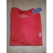 Franelas Marca Polo Talla M Color Rojo