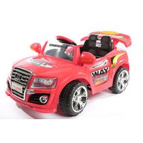 Audi A Bateria 6 Volts Con Control Remoto + Mp3+fm