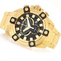Relógio Invicta 19584 Coalition Forces Gigante 56mm B Ouro