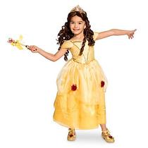 Disfraz Bella Disney Store Vestido Bella Y La Bestia