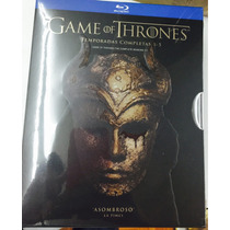 Juego De Tronos Temporadas 1-5 Game Of Thrones Bluray
