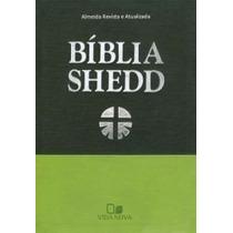 Bíblia De Estudo Shedd Luxo - Duotone Verde